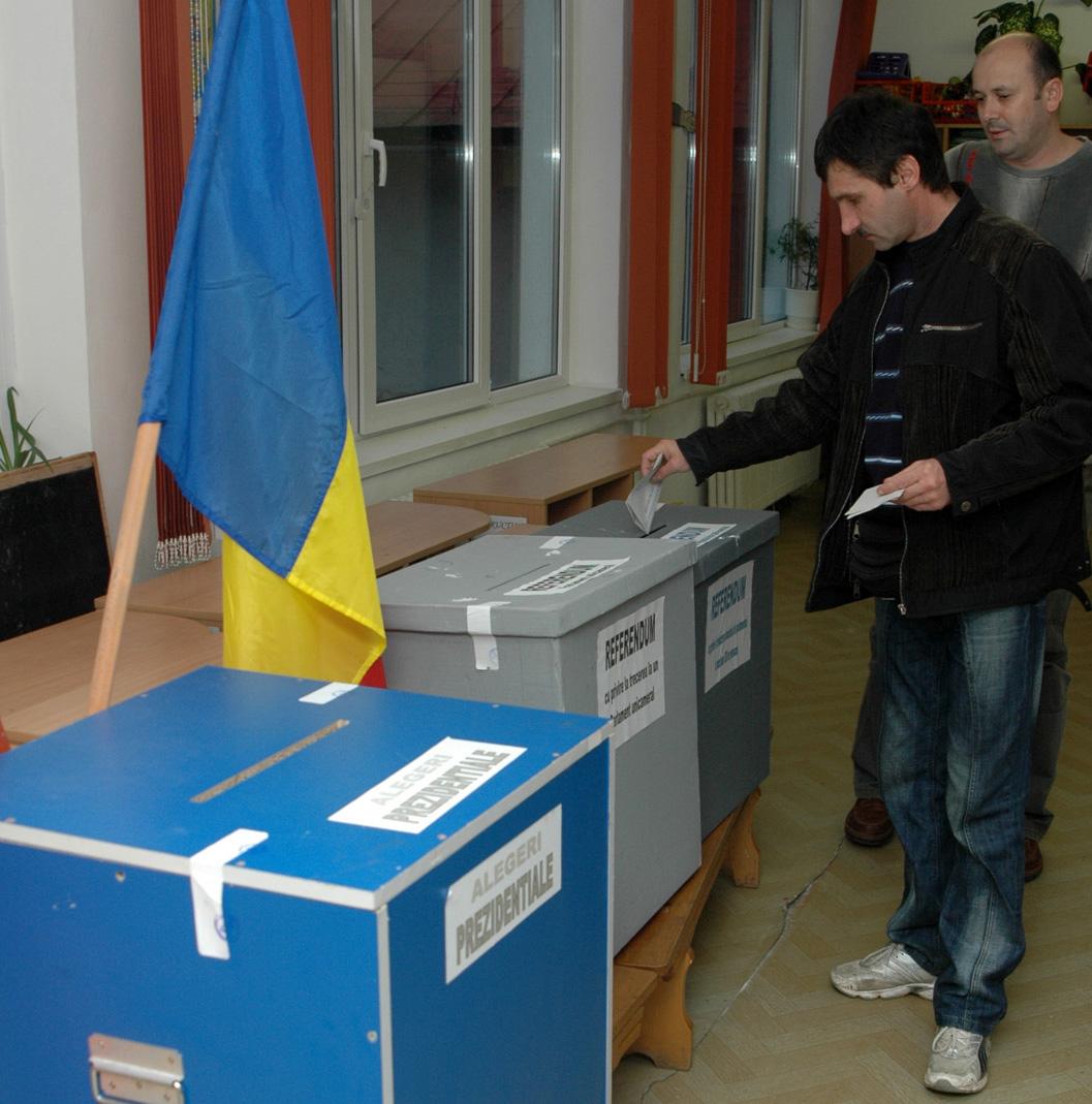 Maramuresul pe locul 36 prezenta la vot cu doua ora inainte de inchiderea urnelor