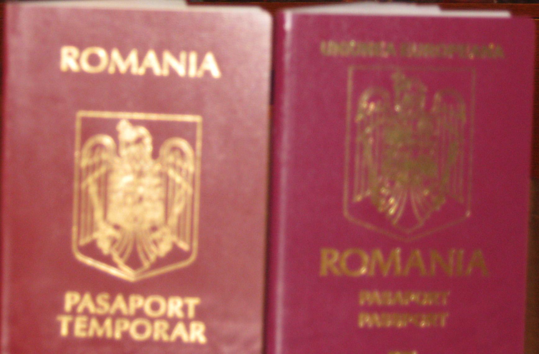 266 de lei va costa, de luni, pasaportul electronic
