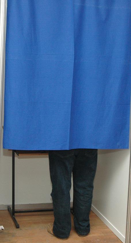 cabina de vot
