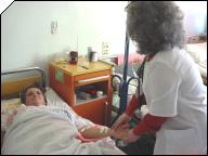 medic la patul bolnavului