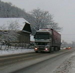 drumuri iarna