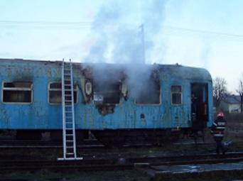 Mort in tren