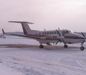 Aeronava in aeroport