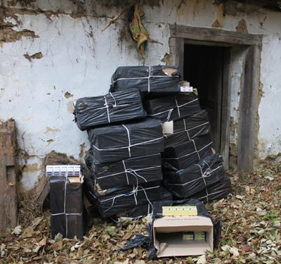 Tigari confiscate in urma unei perchezitii domiciliare