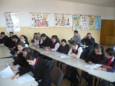 """""""Parlamentul este al tinerilor""""- proiect lansat la Ulmeni"""