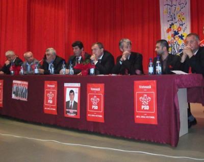 PSD Somcuta Mare si-a lansat candidatii pentru primarie si Consiliul Local