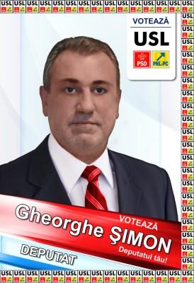 Gheorghe Simon (USL): Am curajul de a spune si puterea de a face