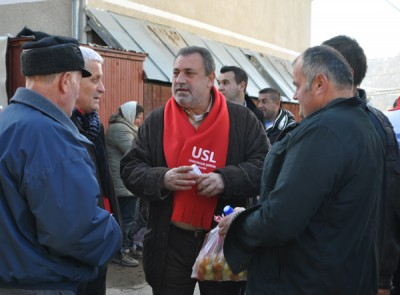 Gheorghe Simon, candidatul USL pentru Camera Deputatilor, sustinut de primarii din colegiu