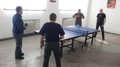 Campionat de tenis de masă organizat de jandarmi