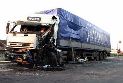 Imagini de la locul accidentului din Cehia