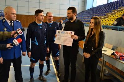 13. 375 de lei strânşi la un meci caritabil în Baia Mare