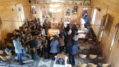 """PS Iustin Sigheteanul oficiază la Biserica """"Duminica Mironosiţelor"""" Baia Mare"""