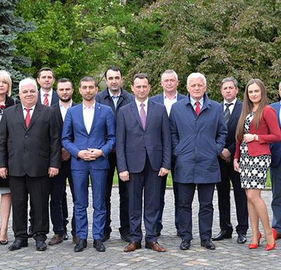 Fost prefect pe listele de candidaţi pentru Consiliul Judeţean