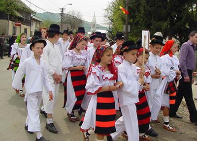copii la festival