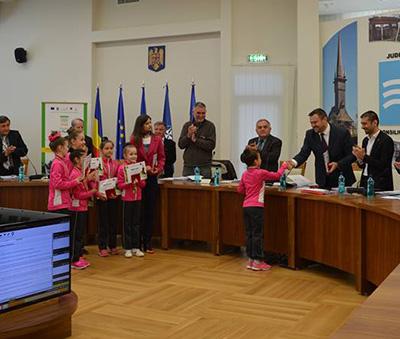 Talent premiat în Consiliul Judeţean