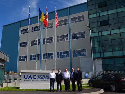 Prefecții din Maramureș și Satu Mare, în vizită la UAC Europe