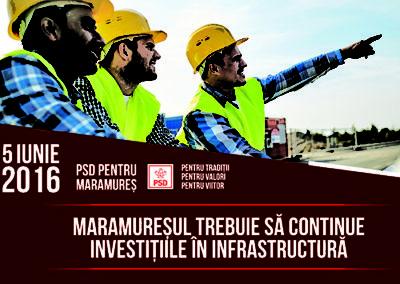 Gabriel Zetea: Maramureșul trebuie să continue investițiile în infrastructură