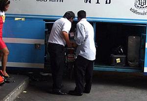 Poliţiştii din Vişeu au un suspect pentru furtul din autobuz