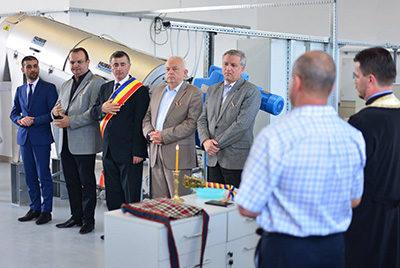 """Inaugurare la """"Canalizare cu stație de epurare în Tăuții Măgherăuș, Bușag și Merișor"""""""