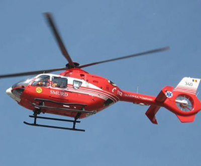 Elicopter SMURD pentru zona Nord-Vest cu baza în Sălaj