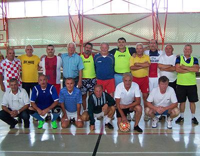 Sărbătoare pentru foştii fotbalişti de la Minerul Baia Sprie