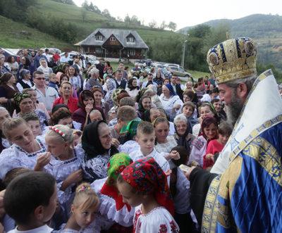 Iustin Sigheteanul, la Mănăstirea Valea Scradei