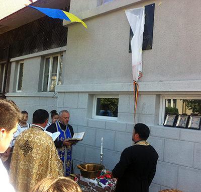 "A fost inaugurat Liceul ""Mihai Eminescu"" din Slatina (Ucraina)"