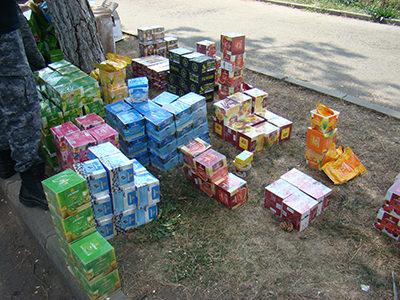 Tutun, alcool şi icoane confiscate la frontiera de nord