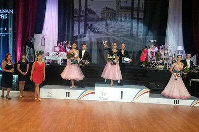 Prodance 2000 Baia Mare, argint și bronz la Transylvanian Grand Prix