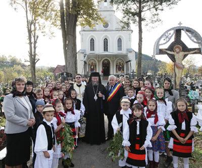 Binecuvântarea capelei de cimitir din Petrova