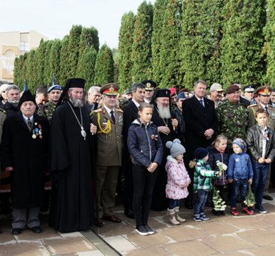 Mitropolitul Andrei, Iustin Sigheteanul şi Klaus Iohannis, la Carei
