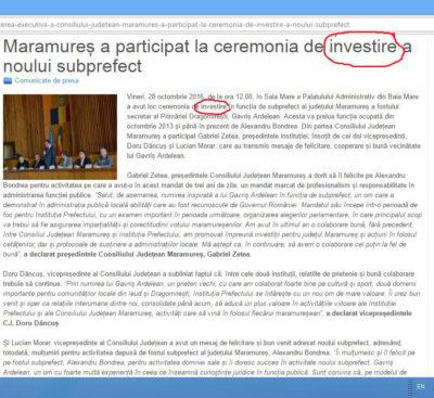 Vin investiții în Maramureș!