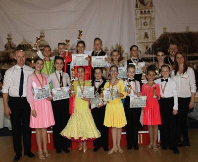 Cupa Castanelor: Prodance 2000 s-a calificat în 20 de finale și a câștigat 14 medalii