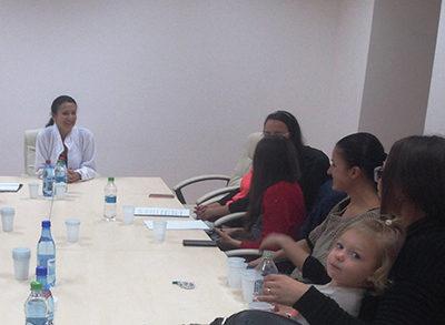 Servicii medicale pentru mama şi copil – tema de discuţii cu managerul spitalului