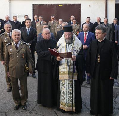 Ceremonial religios la trecerea în rezervă a comandantului Centrului Militar