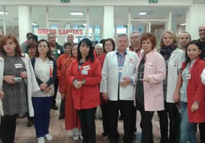 Greva din spitale – suspendată temporar