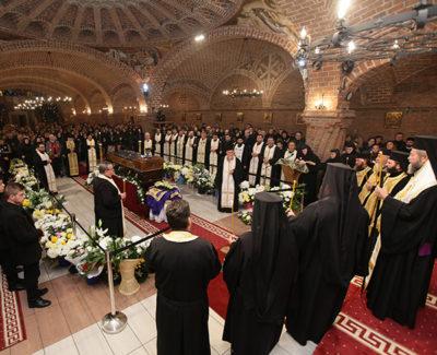 PS Vasile Someşeanul a adus un ultim omagiu ÎPS Justinian
