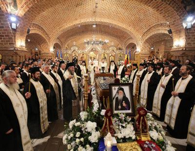 17 episcopi – la înmormântarea Preasfinţitului Justinian