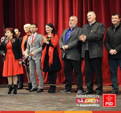 Zetea: Candidații PSD Maramureș pentru alegerile parlamentare s-au întâlnit cu locuitorii din Seini