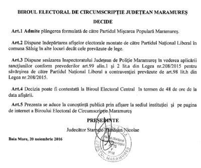 """BEJ a sesizat Poliţia pentru afişajul electoral. PNL """"campion"""" la încălcarea legii"""