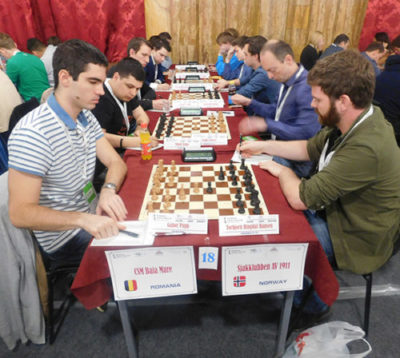Baia Mare locul II la şah după şase runde în Superligă