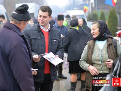 Bogdan Tomoiagă ( PSD): Maramureșul Voievodal îndrăznește să creadă în parlamentarii social-democrați