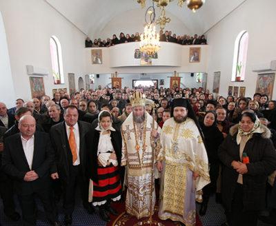 """Hram la schitul """"Sfântul Apostol Andrei"""" Borşa"""