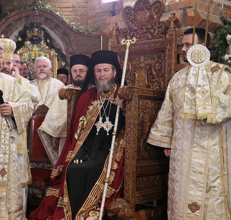 Întronizarea Preasfinţitului Părinte Iustin ca întâistătător al Episcopiei Maramureşului şi Sătmarului