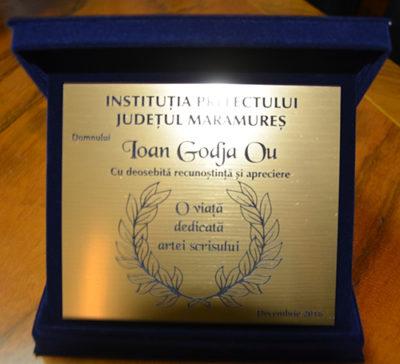 Recompensă pentru țăranul-scriitor Ioan Godja Ou