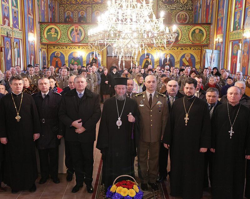 Preasfinţitul Părinte Episcop Iustin a instalat un nou preot militar în Baia Mare