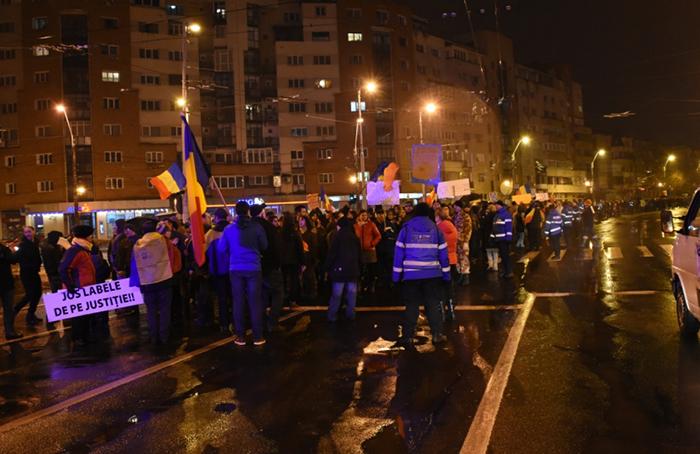 protest in baia mare