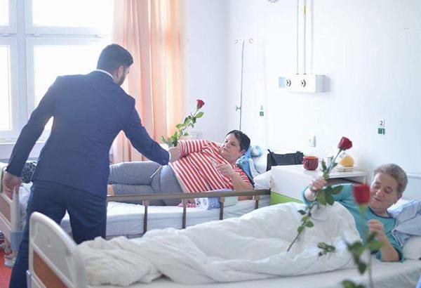 8 Martie pe patul spitalului. Gest al tinerilor din TSD