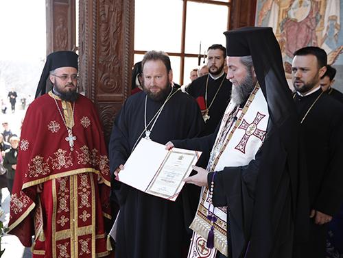 Ridicări în rang la Mănăstirea Rohia