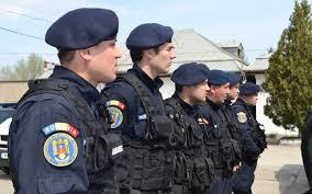 Jandarmii pregătiți pentru protest